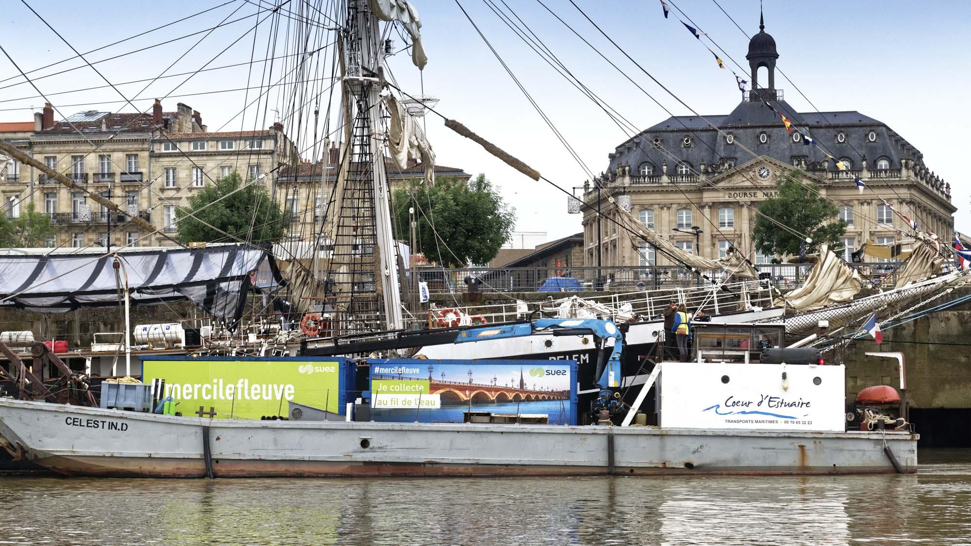 Collecte fluviale Bordeaux
