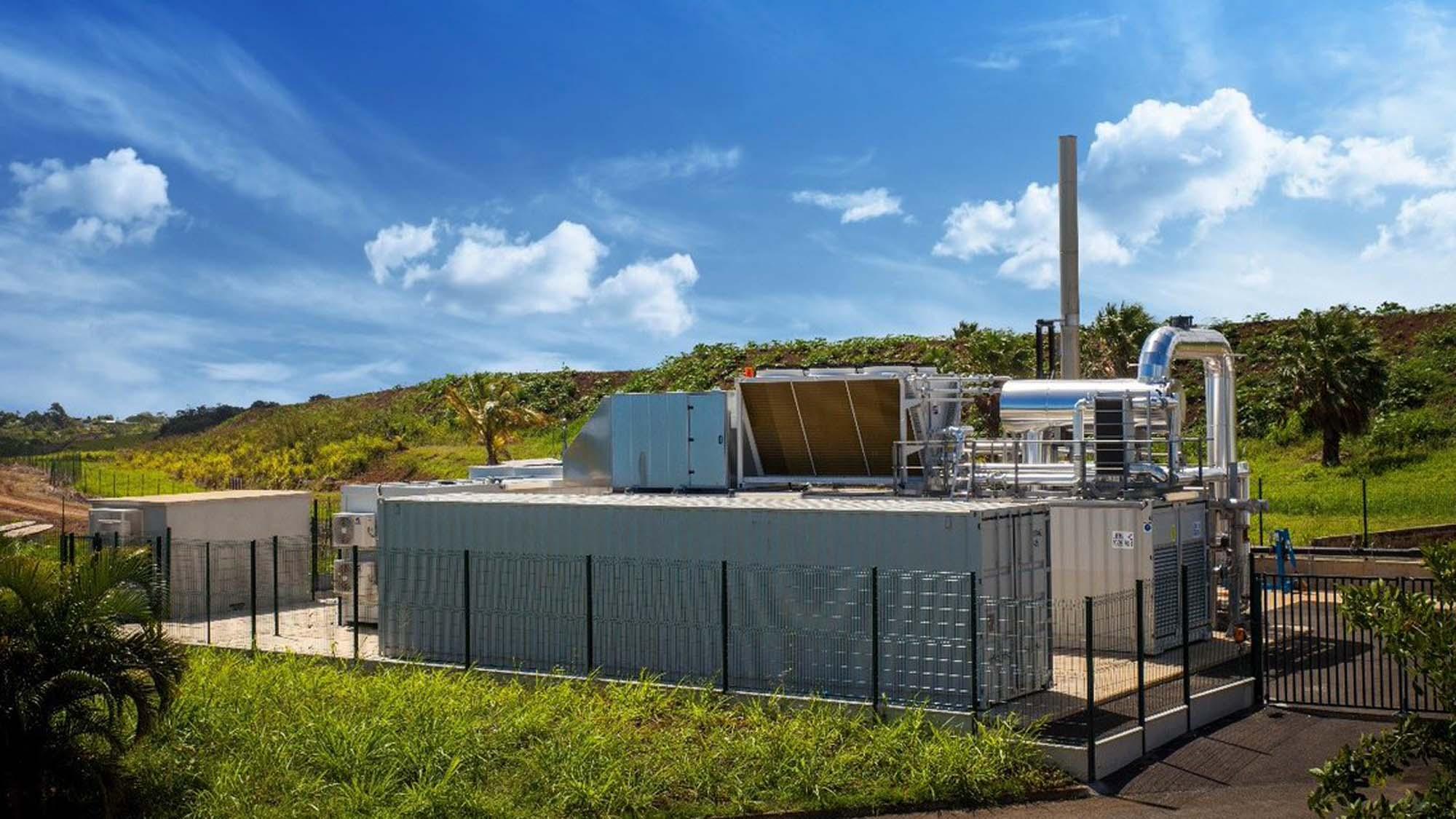 Guadeloupe dechets biogaz