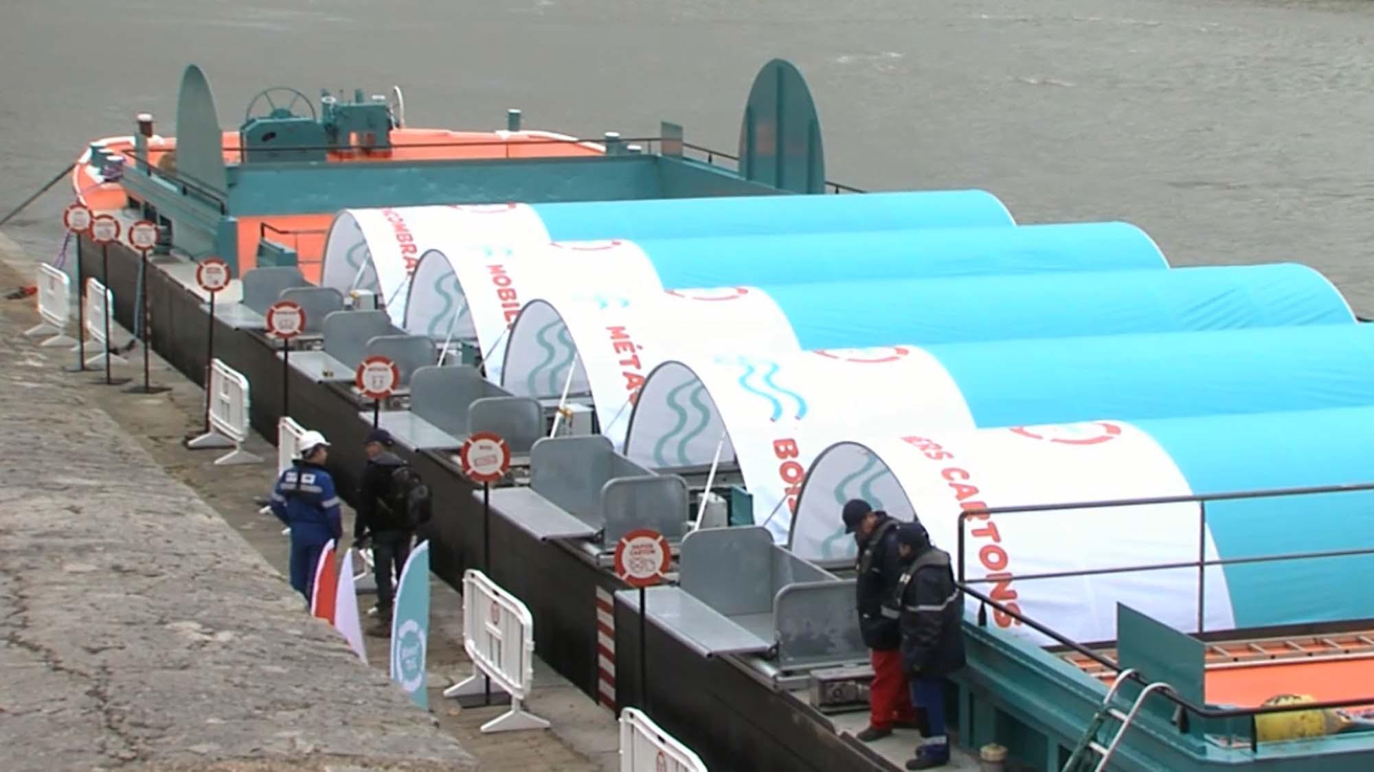 decheterie fluviale Lyon