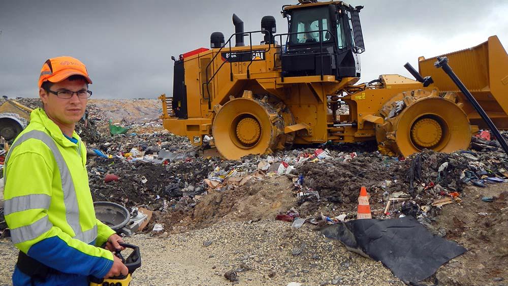 compacteur déchets