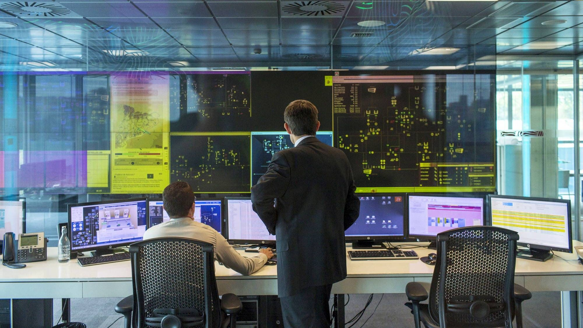 Salle de contrôle
