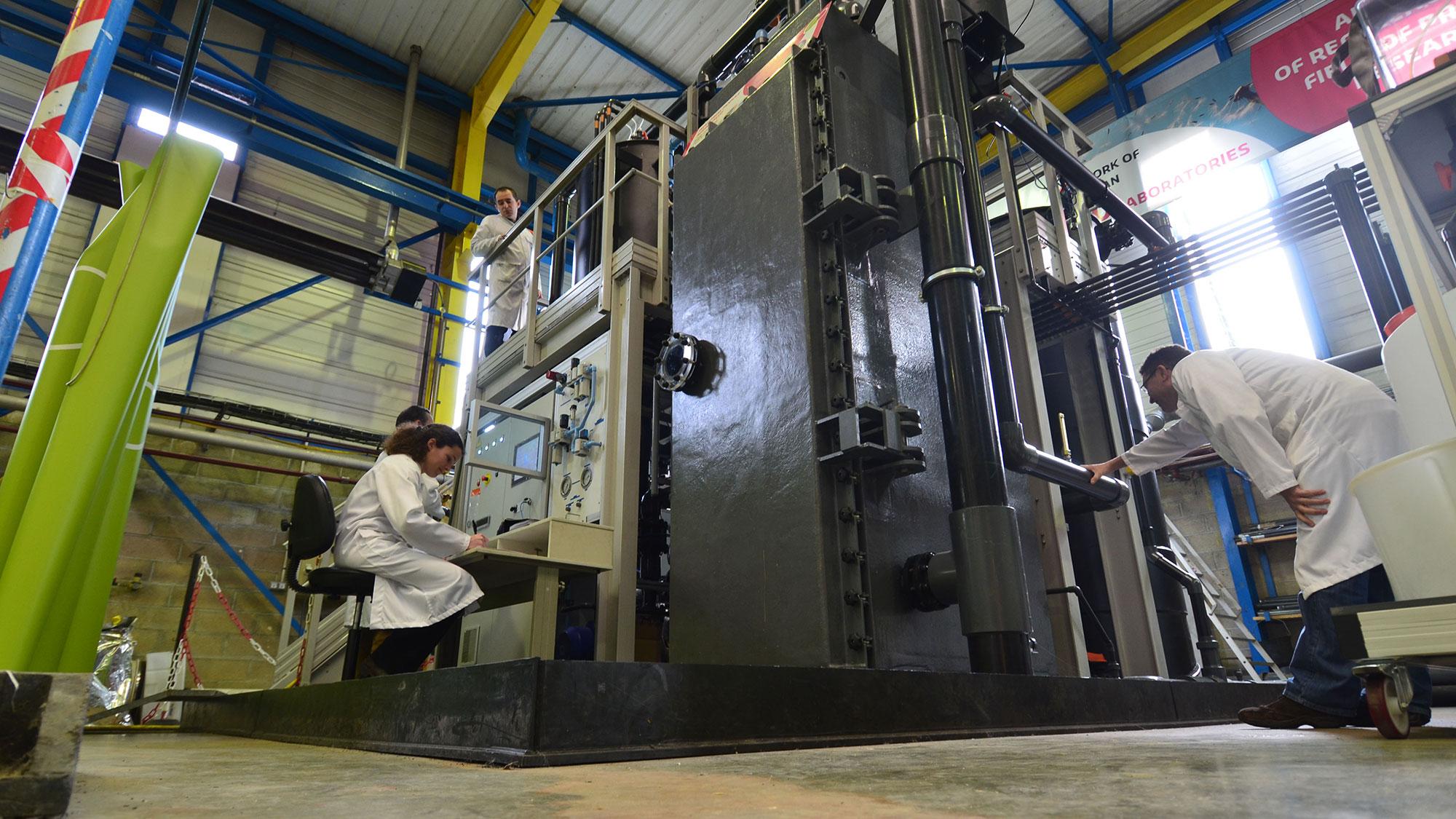Les tests technologiques de Suez